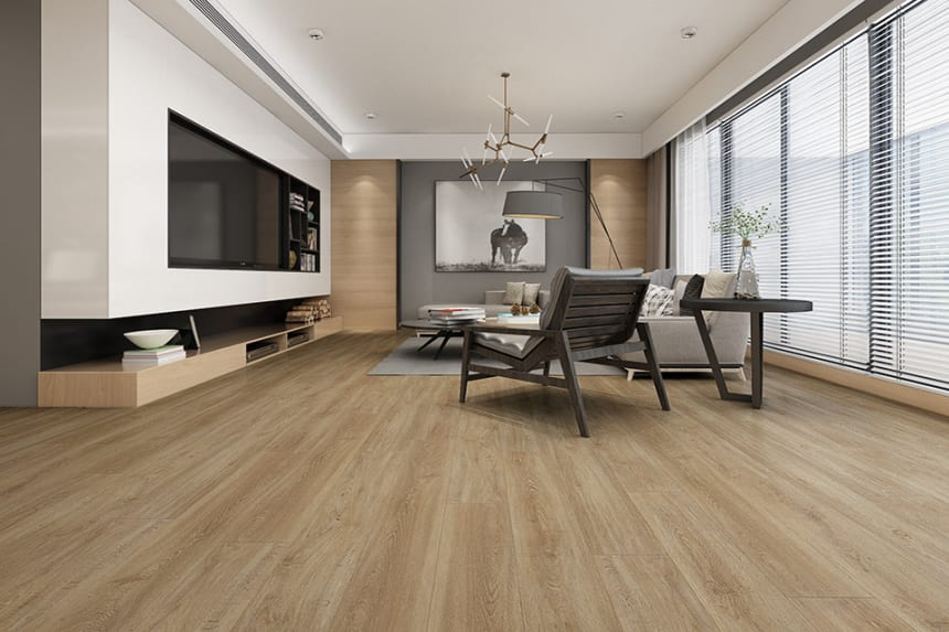 Flooring Vinyl Click Flooring Olive 4.2mm By 178mm By 1220