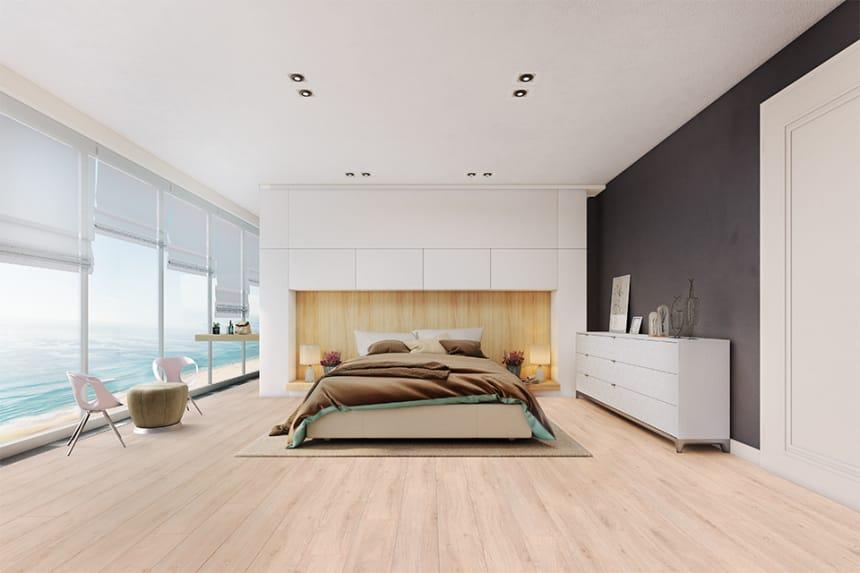 Beaufort Oak Laminate Flooring 8mm By 193mm By 1380mm