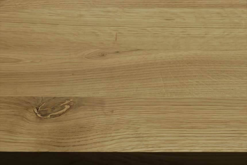 Full Stave Rustic Oak Worktop 38mm By 620mm By 2000mm