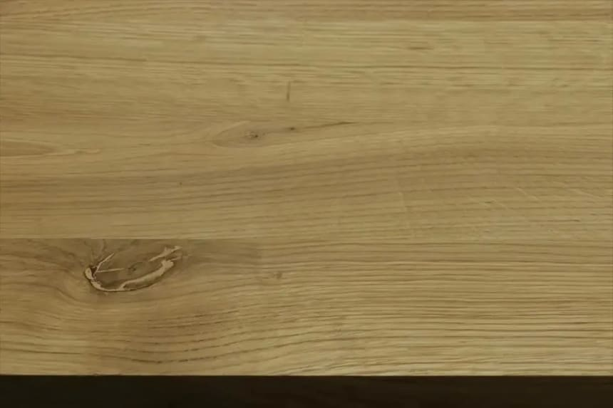 Full Stave Rustic Oak Worktop 38mm By 620mm By 2600mm