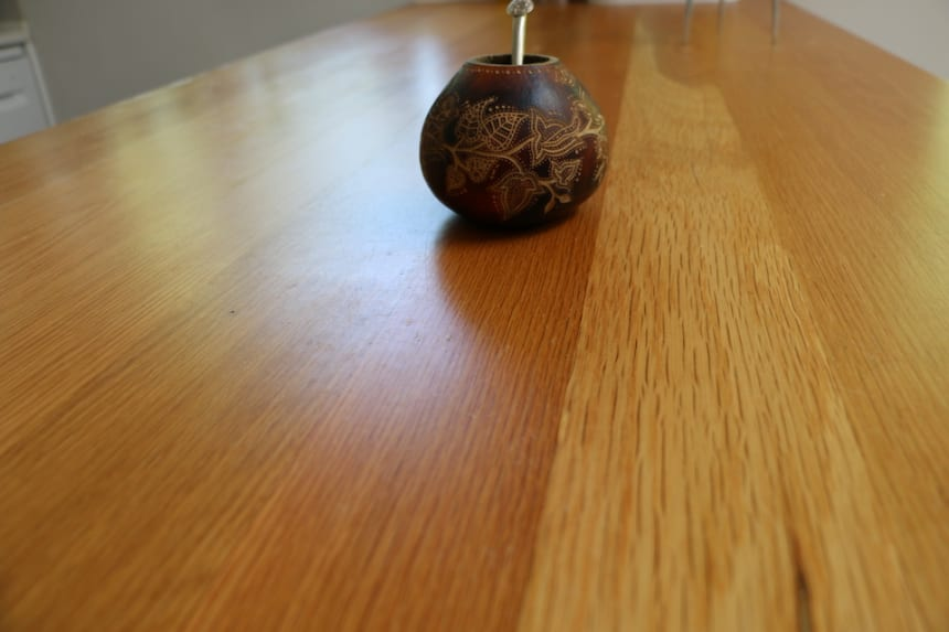 Full Stave Rustic Oak Worktop 40mm By 620mm By 2000mm