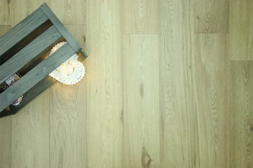 Natural Engineered Flooring Oak Semi Matt Lacquered 20/5mm By 220mm By 1800-2400mm