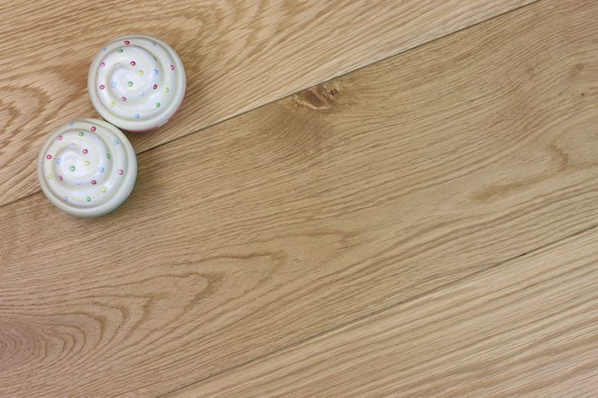 Natural Engineered Flooring Oak UV Oiled 15/4mm By 190mm By 1900mm