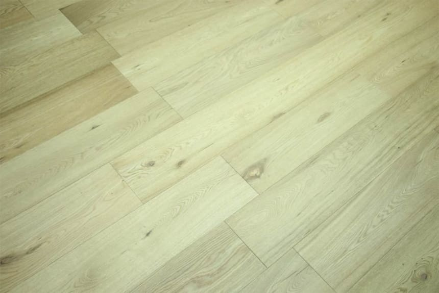 Natural Solid Flooring Oak Semi Matt Lacquered 20mm By 140mm By 500-1900mm