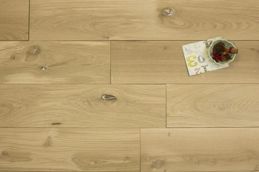 Natural Solid Oak Unfinished 20mm By 180mm By 500-2200mm