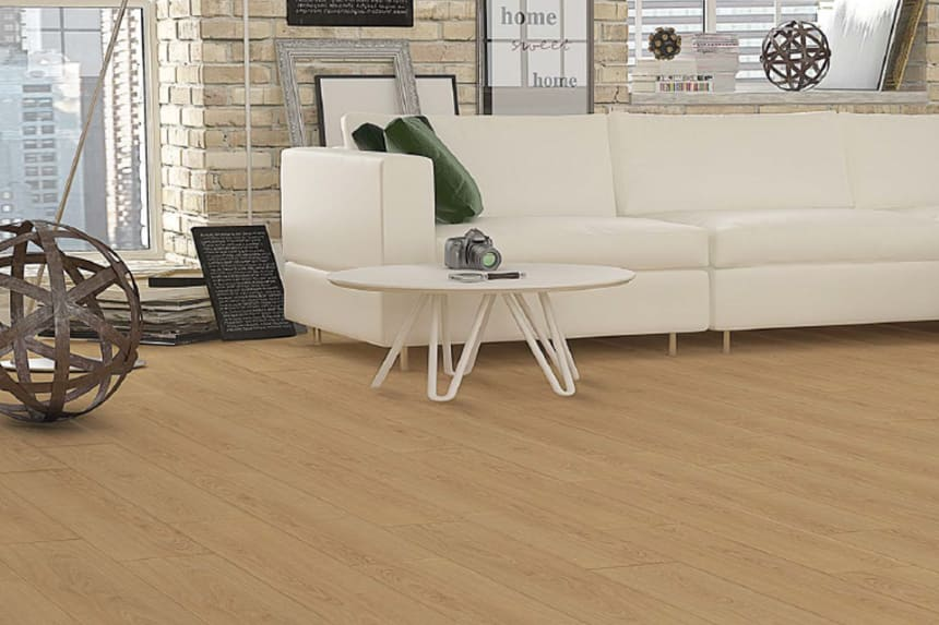 Peking Natural Oak Laminate Flooring 8mm By 197mm By 1205mm