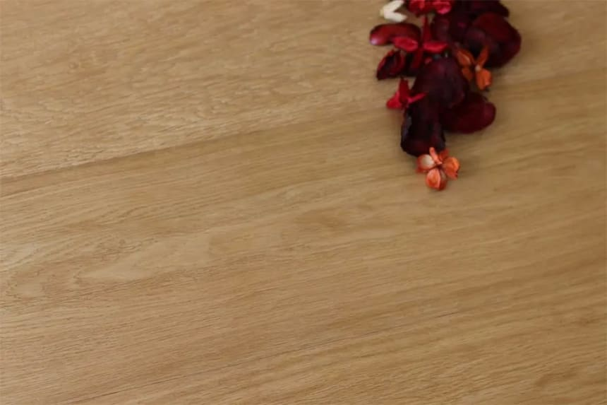 Prime Engineered Flooring Oak Click Smoked Coloured Brushed UV Semi Matt Lacquered 14/3mm By 146mm By 805-2400mm