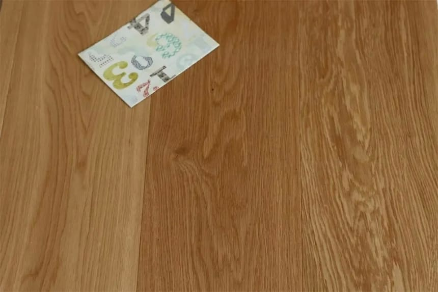 Prime Engineered Flooring Oak Click UV Lacquered 14/3mm By 195mm By 1800mm