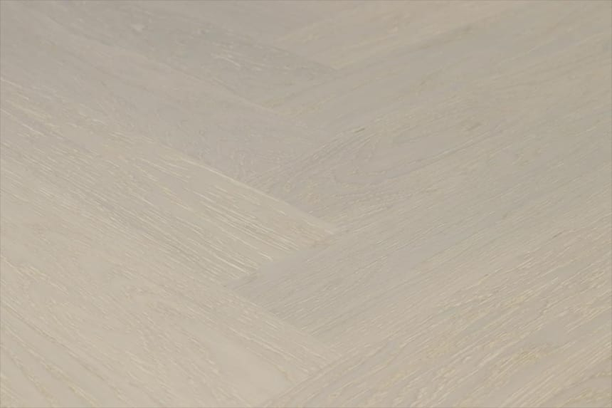 Prime Engineered Flooring Oak Herringbone Sealed Brushed UV Lacquered 14/3mm By 98mm By 790mm