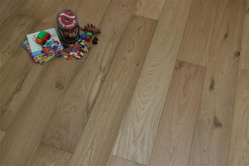 Rustic Engineered Flooring Oak UV Oiled 10/3mm By 150mm By 600-1900mm