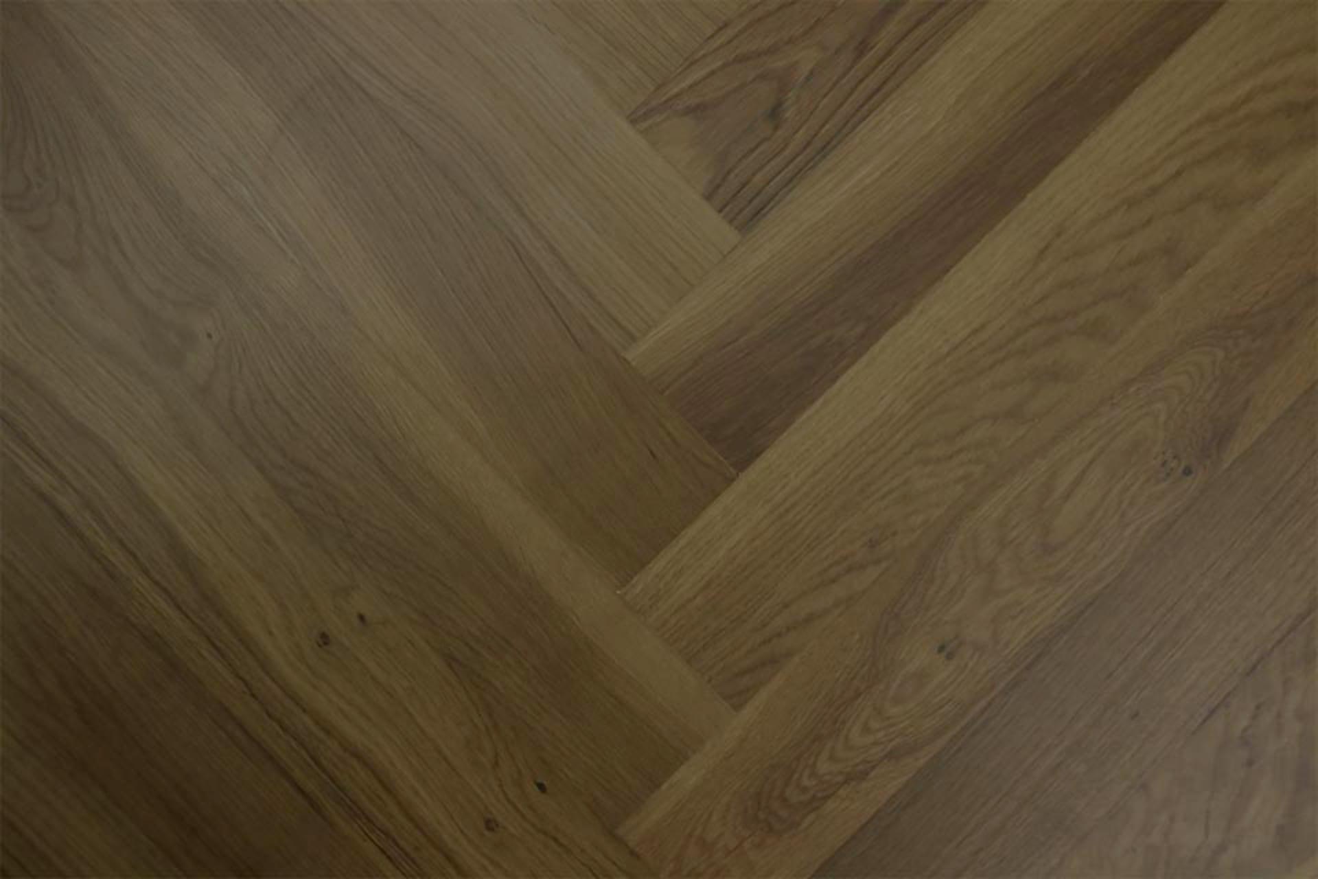 Natural Engineered Flooring Oak Herringbone Macchiato Uv
