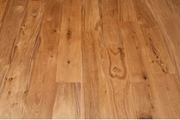 Natural Engineered Oak Flooring UV Oiled 14/3mm By 150mm By 1200mm