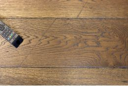 Select Engineered Flooring Oak Reclaim Brown UV Oiled 15/4mm By 260mm By 1900mm