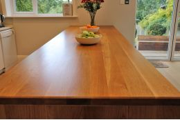 Full Stave Select Oak Worktop Elite 40mm By 750mm By 2950mm