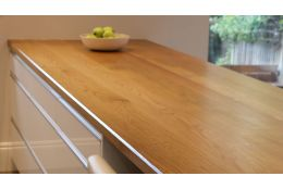 Full Stave Select Oak Worktop 38mm By 620mm By 3500mm