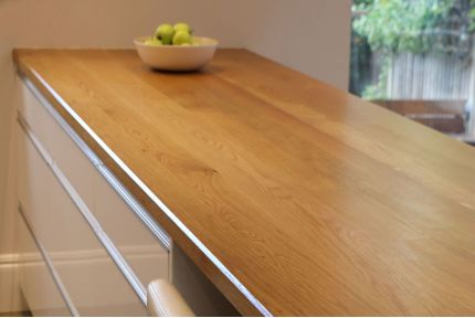 Full Stave Select Oak Worktop 38mm by 950mm by 3000mm