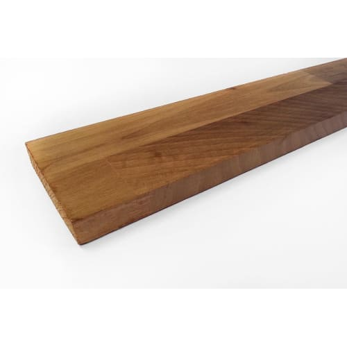 Premium European Walnut Kitchen Worktop Upstand 18mm By 80mm By 4000mm