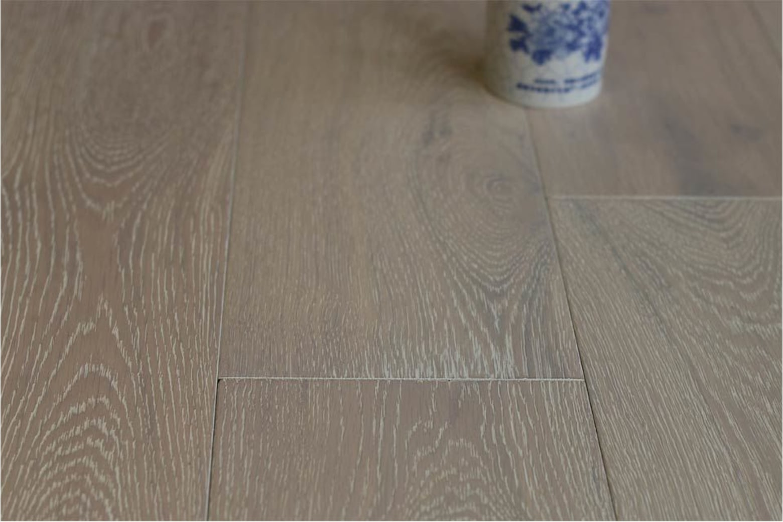 Natural Engineered Flooring Oak Brushed White UV Oiled Two 15/4mm By 220mm By 2200mm