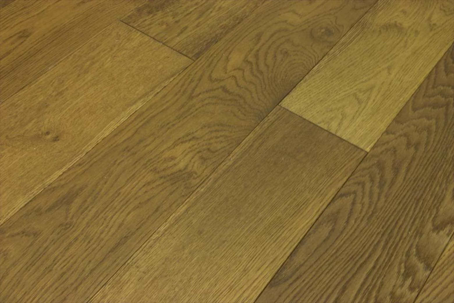 Natural Engineered Flooring Oak Smoked Stained Brushed UV Oiled 14/3mm By 150mm By 1900mm