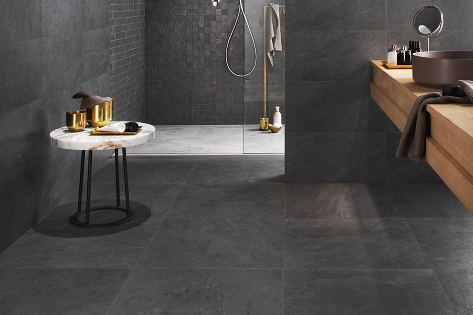 Porcelain Tile Minerva Black 600mm By 600mm