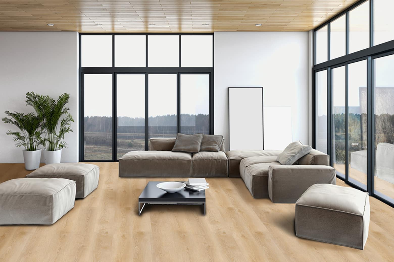 Luxury Click Vinyl Flooring Milan White 5mm By 169mm By 1210mm