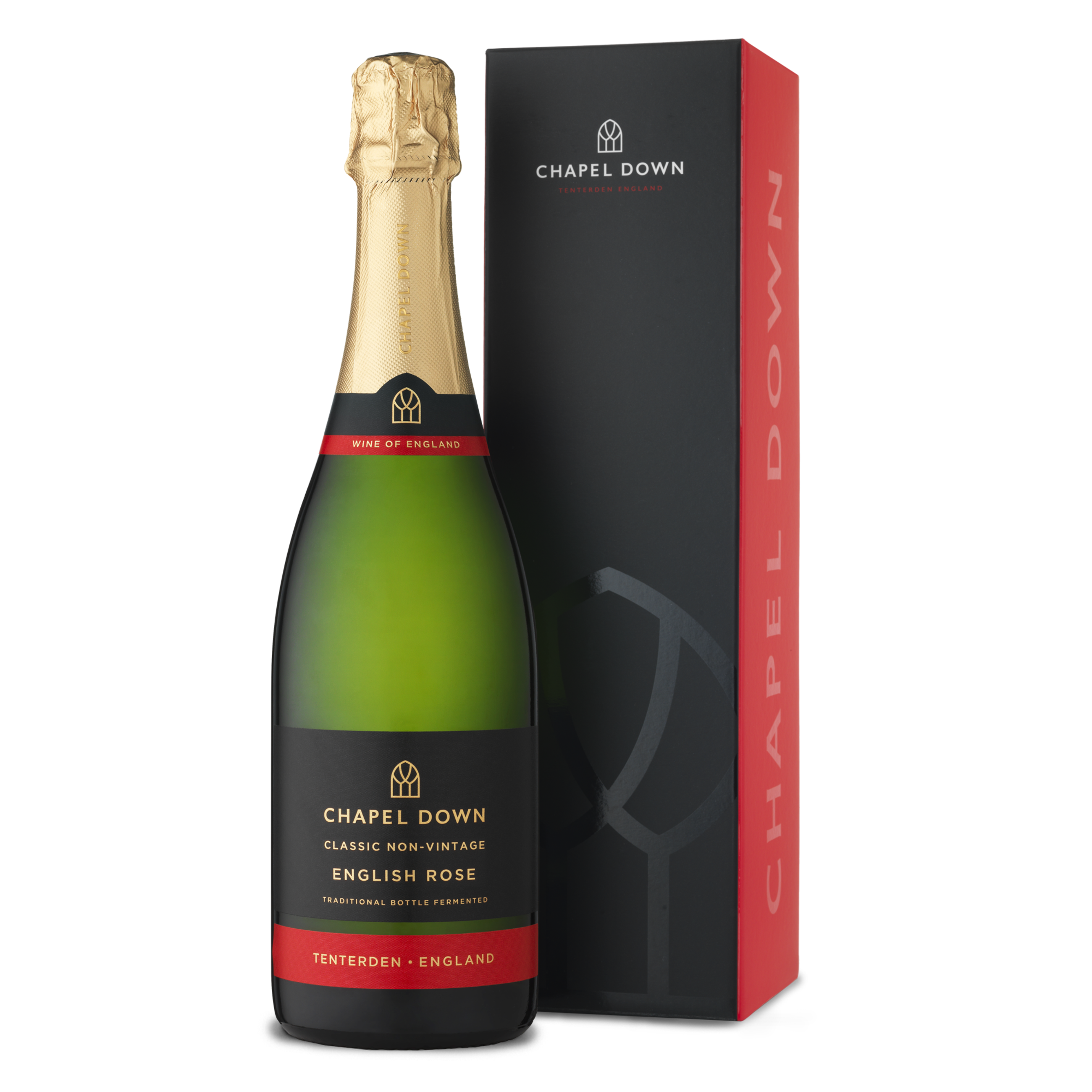 Sparkling English Rose And Gift Box Wines Chapel Down