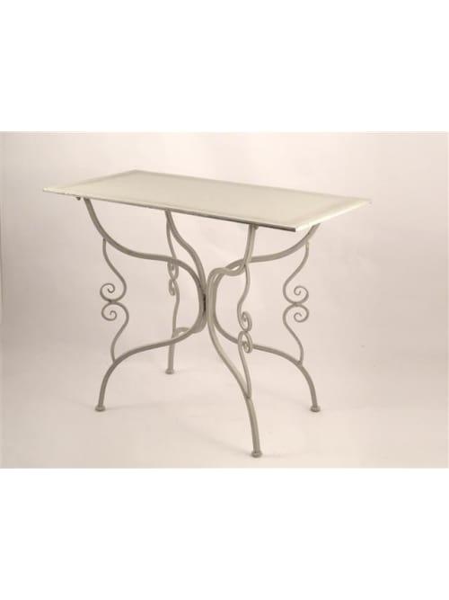 Disraeli tavolo rettangolare ferro grigio