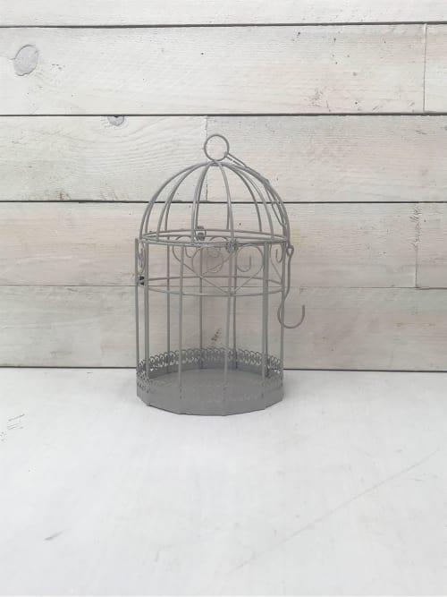 Gabbietta grigia in ferro - Ad Trend