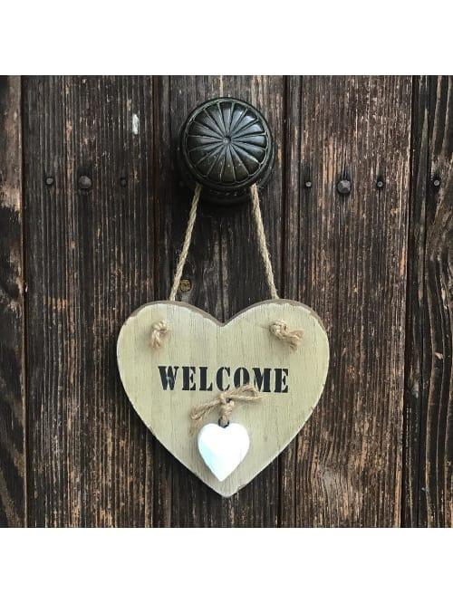 Lorenzongift decoro cuore Welcome
