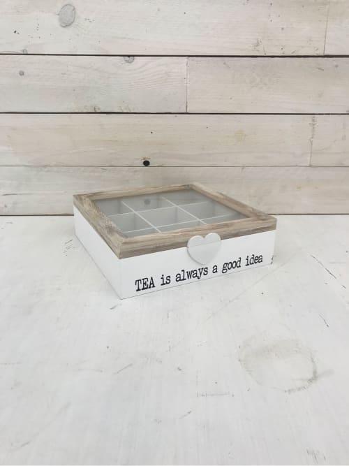 Scatola porta tea a 9 scomparti - Lorenzongift