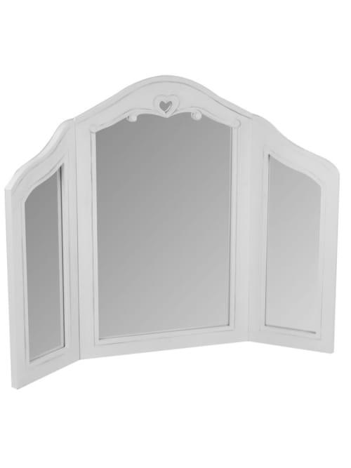 Specchio a tre pannelli da tavolo shabby - Lorenzongift
