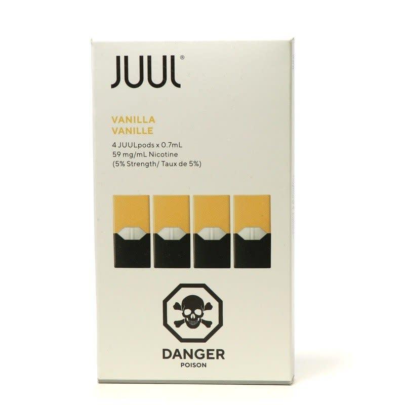 Vanilla Juul Pods 4pk - 1 5%, 3%, 5%