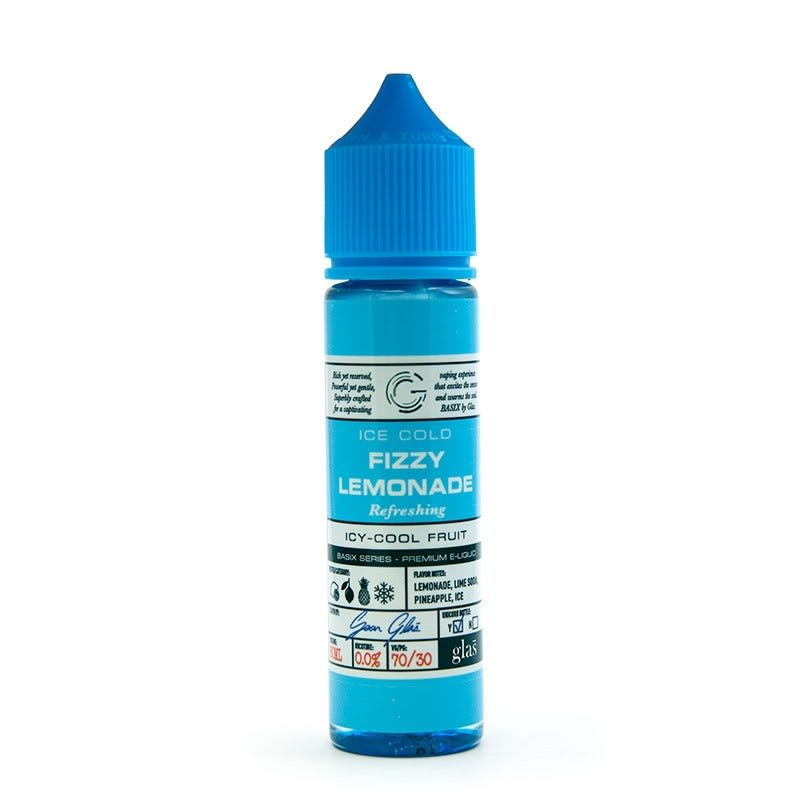 E-Juice by Glas Basix Series (60mL) - Fizzy Lemonade