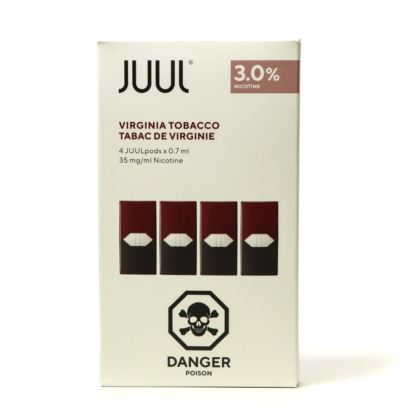 Virginia Tobacco Juul Pods 4pk - 3%