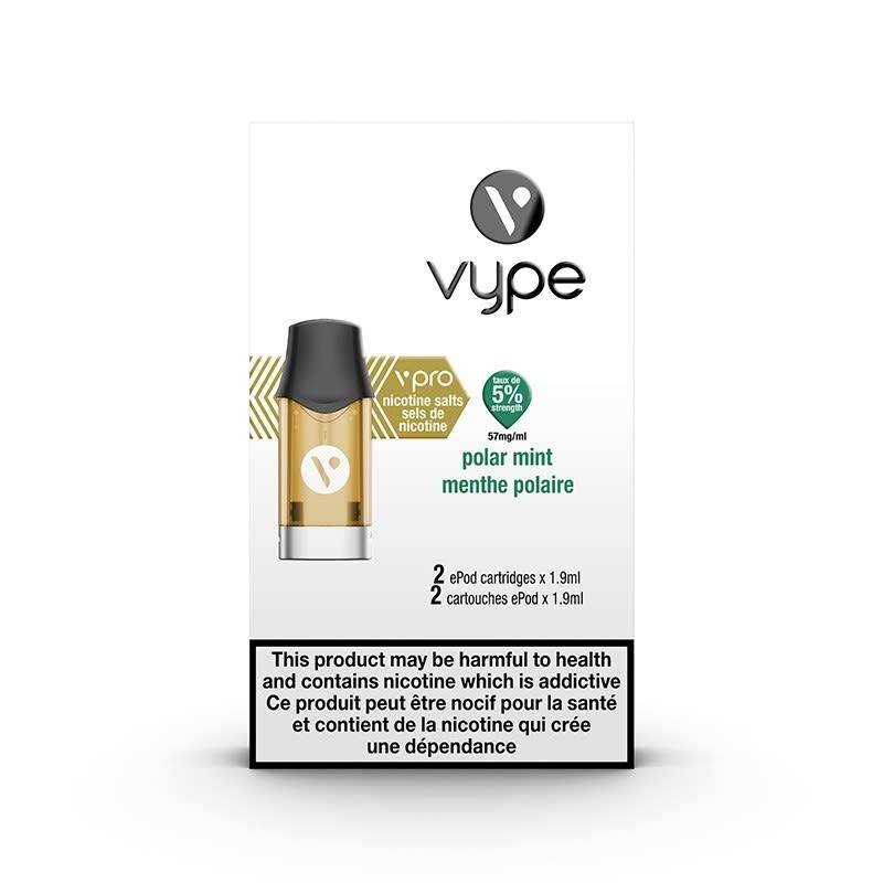 Vype ePod vPro Pod - Polar Mint (2pk)