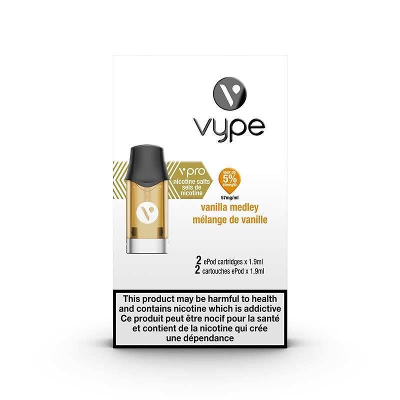 Vype ePod vPro Pod - Vanilla Medley (2pk)