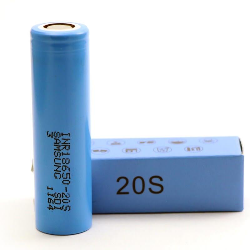Samsung 20S 18650 2000mAh 30A Cell