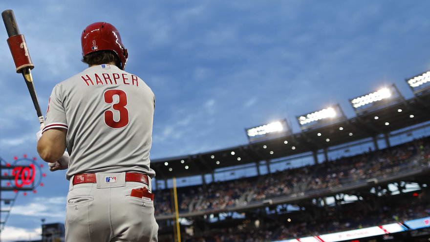 Phillies Leave D C Swept But Bryce Harper Still Got To
