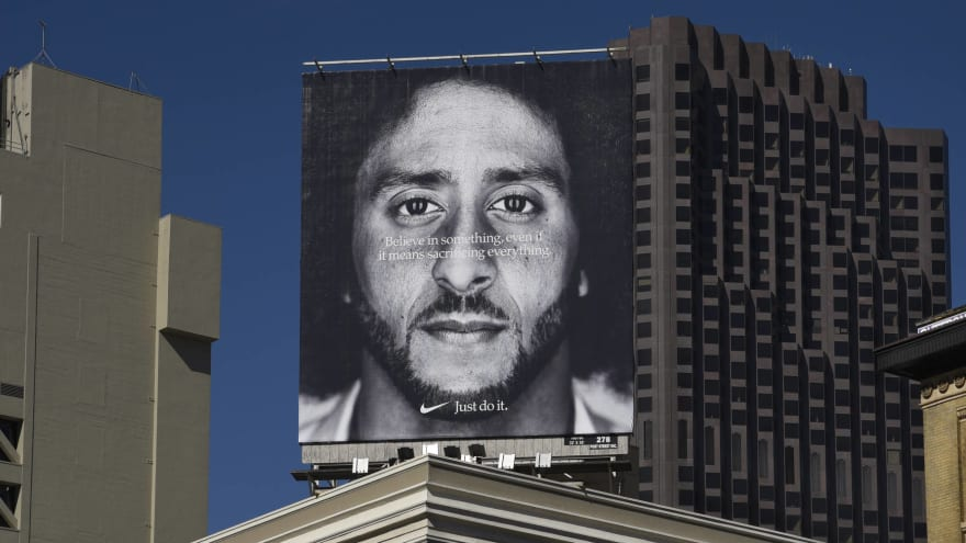 Colin Kaepernick's Nike commercial nominated for Emmy