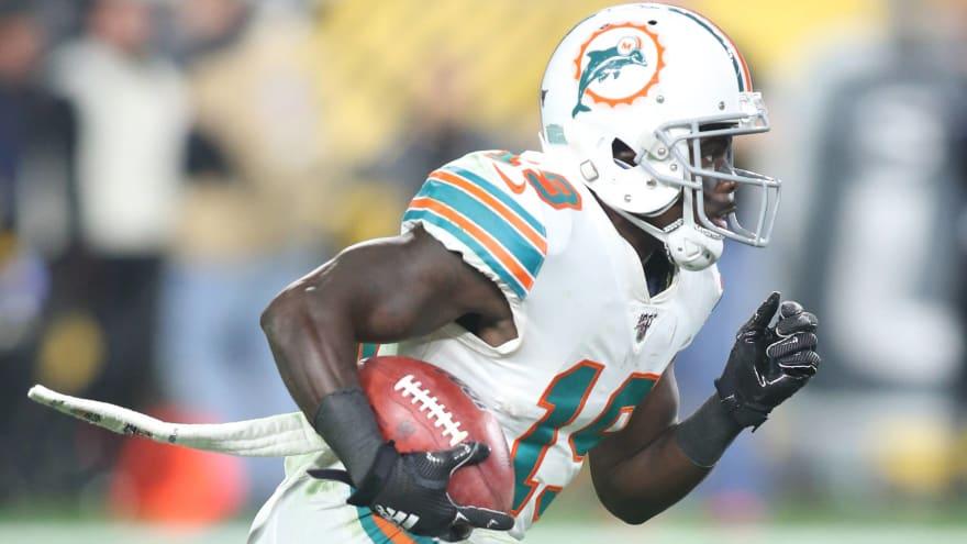 Watch: Dolphins' Jakeem Grant scores on 101-yard kickoff return