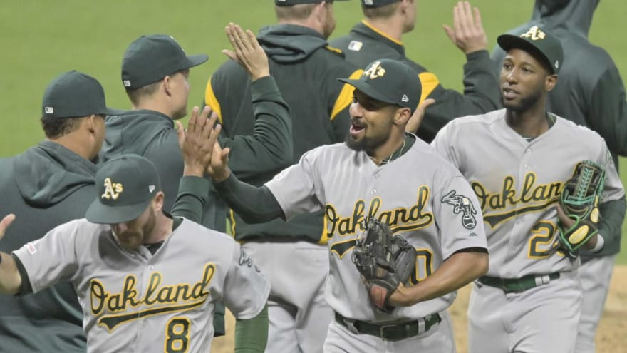 Athletics troll 'Game of Thrones' after completing series sweep