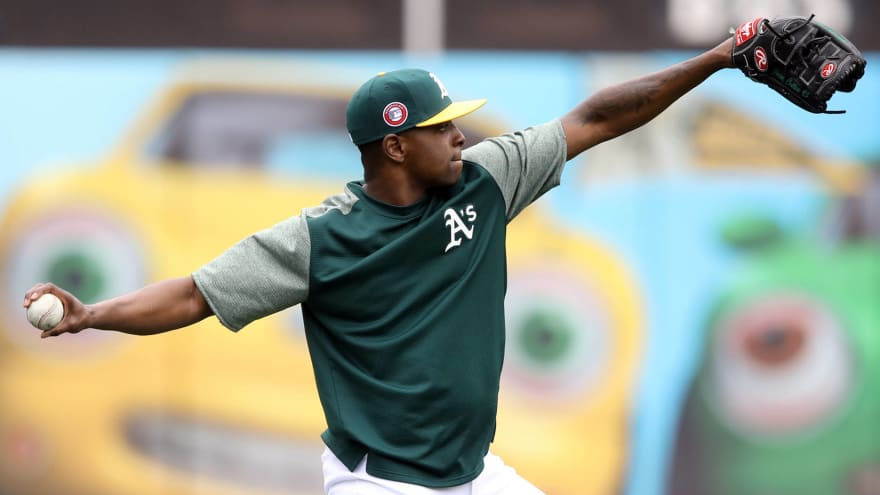 Cubs acquire right-hander Jharel Cotton from Athletics