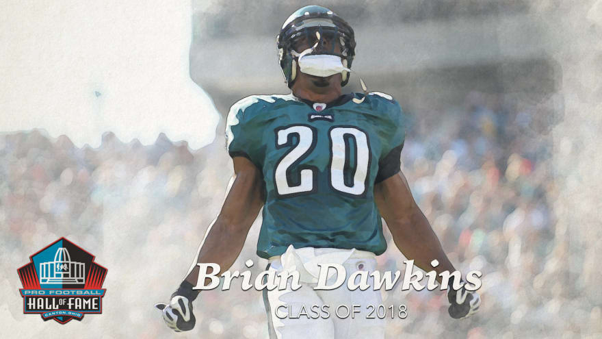the latest a0d8b 8e301 Brian Dawkins redefined the safety position with unmatched ...