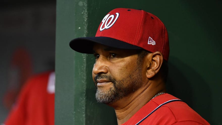 Nationals manager Dave Martinez hospitalized after undergoing heart procedure