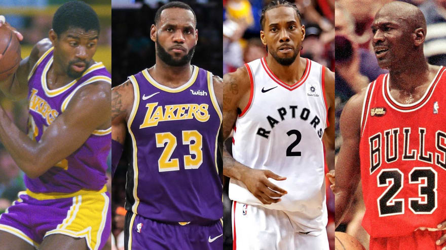 newest b54db 09a75 How twilights of LeBron, Kawhi could mirror games of Magic ...