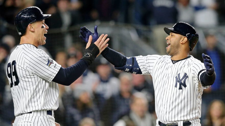 Yanks make remarkable bit of franchise history in first inning of Game 5