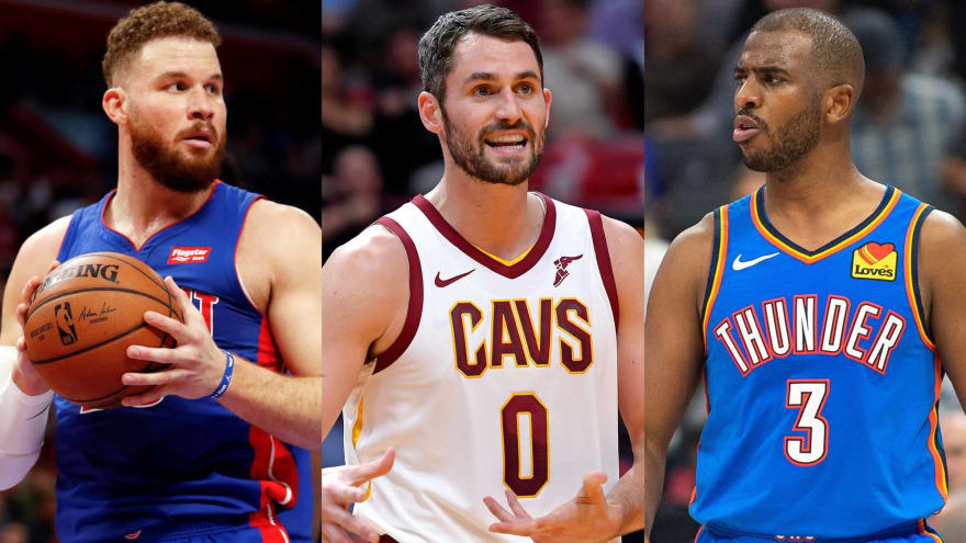 NBA trade chatter: Will Pistons' Griffin, Cavs' Love, Thunder's Paul be dealt?