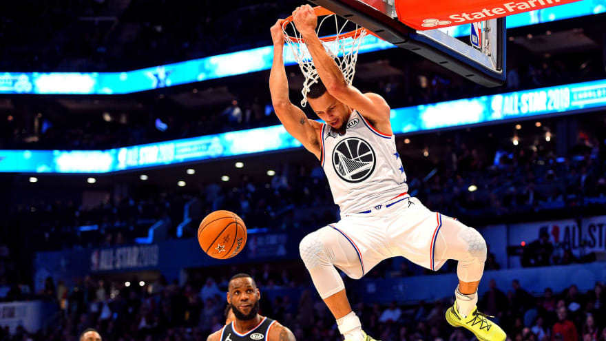 Stephen Curry: All-Star Game slam makes up for January dunk fail