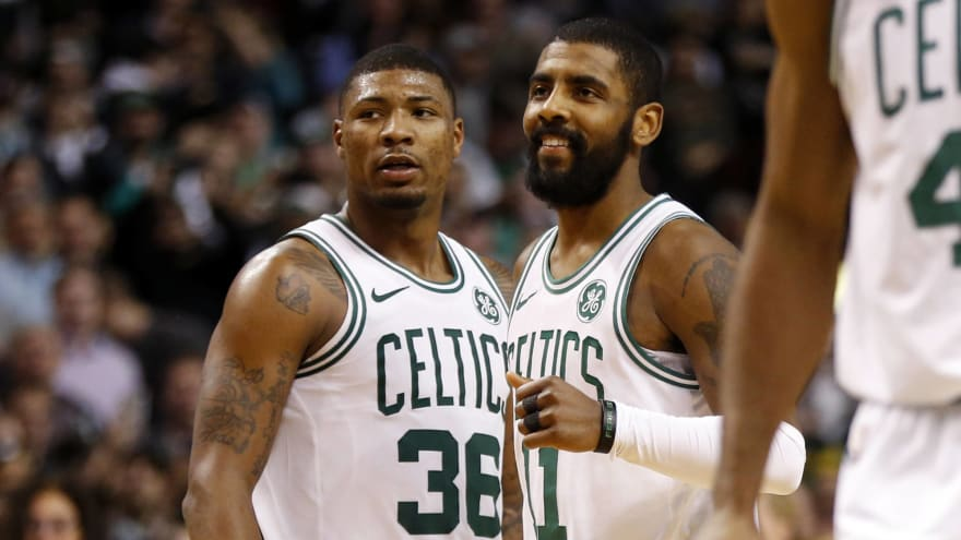 Kyrie Irving says he can 'manage' without Marcus Smart for six weeks