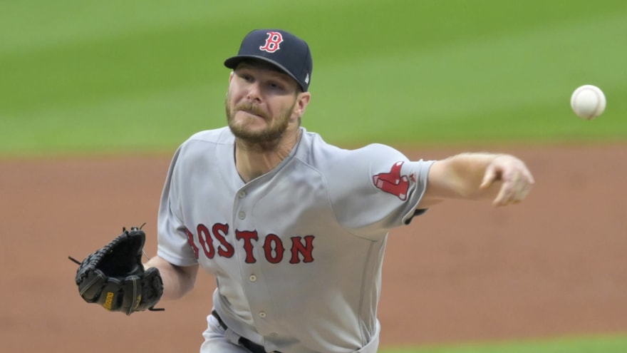 Chris Sale lands on injured list with inflammation in throwing elbow
